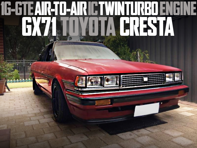 1G-GTE Air-TO-Air IC TWINTURBO GX71 CRESTA