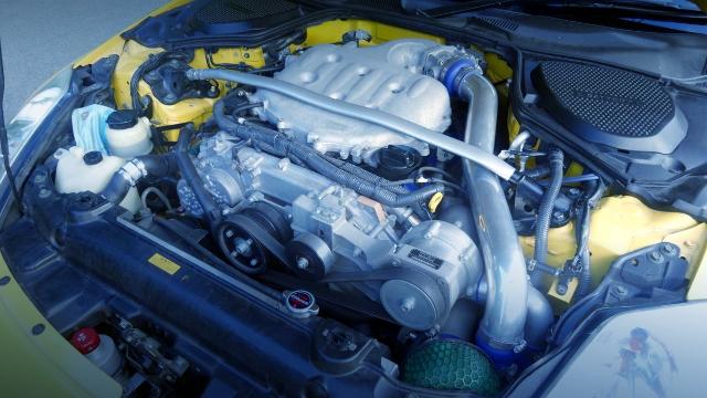 VQ35DE V6 ENGINE WITH HKS SUPERCHARGER