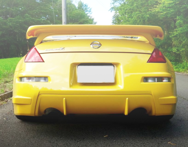 BACK EXTERIOR Z33 FAIRLADY-Z 35TH ANNIVERSARY