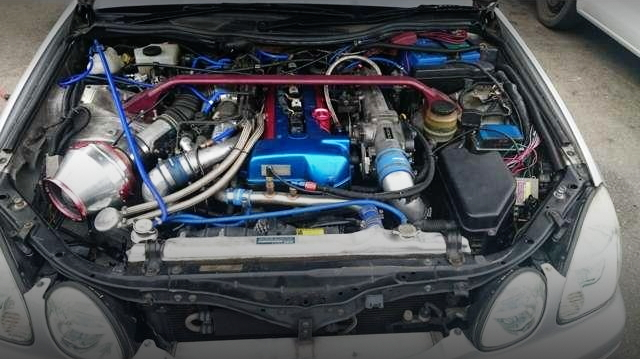 2JZ-GTE VVTI TWIN TURBO ENGINE