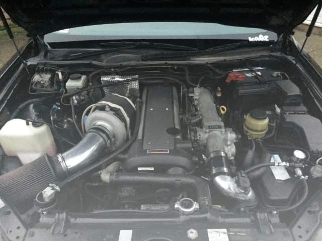 1JZ-GTE WITH BORGWARNER S360SX TURBINE