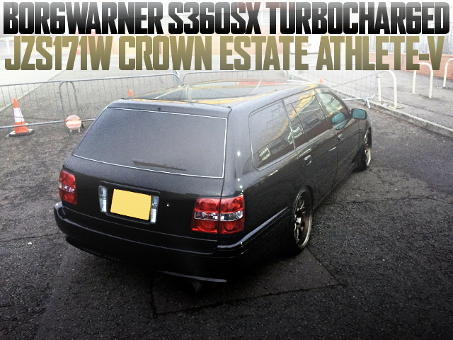S360 TURBO JZS171W CROWN ESTATE ATHLETE-V