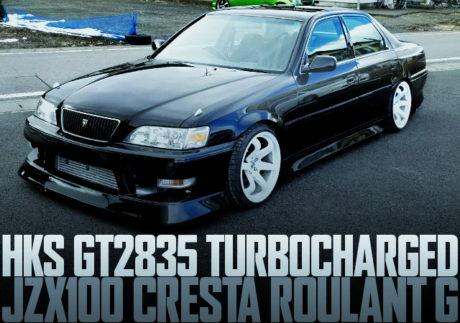 HKS GT2835 JZX100 CRESTA ROULANT G
