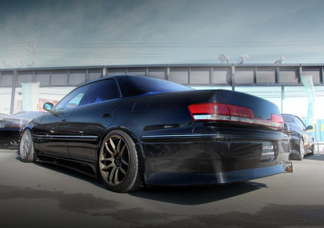 REAR EXTERIOR OF JZX100 MARK2 BLACK