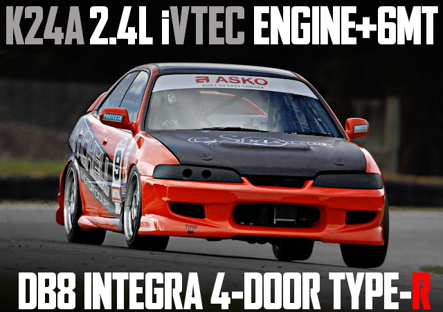 K24A SWAP 6MT DB8 INTEGRA 4-DOOR TYPE-R