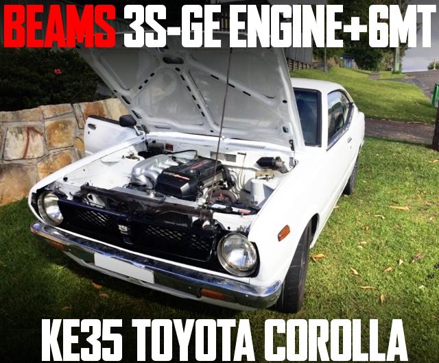 BEAMS 3S-GE ENGINE KE35 COROLLA 2-DOOR