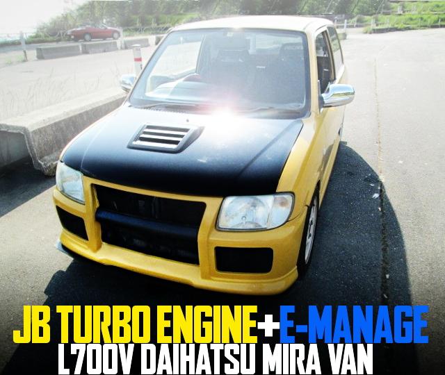 JB TURBO ENGINE L700V MIRA VAN
