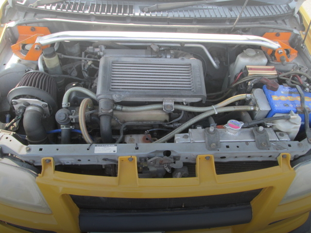 JB 660cc TURBO ENGINE