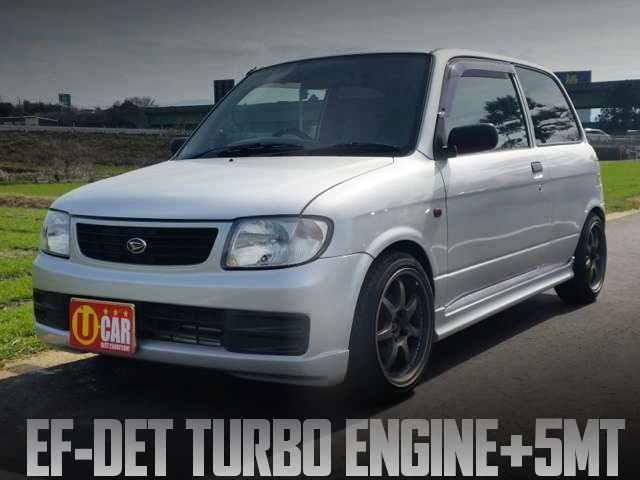 EF-DET TURBO ENGINE L700V MIRA TA
