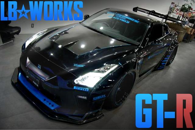 LB-WORKS R35 NISSAN GT-R