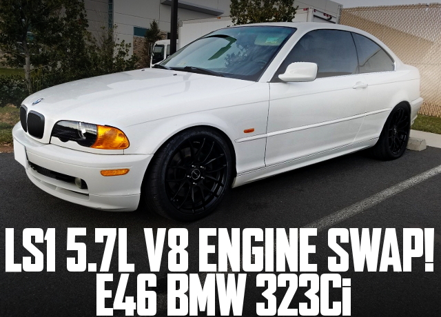 LS1 V8 ENGINE E46 BMW 323Ci