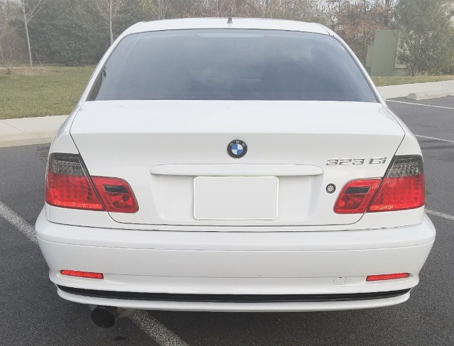 BACK EXTERIOR E46 BMW 323Ci 2-DOOR