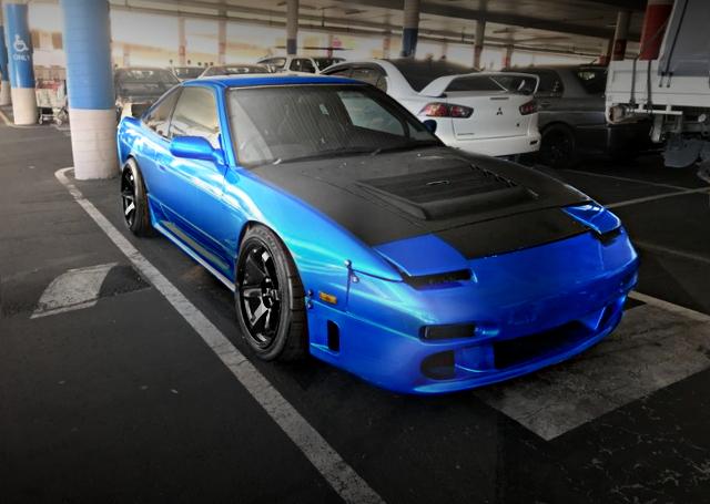 FRONT EXTERIOR 180SX BLUE