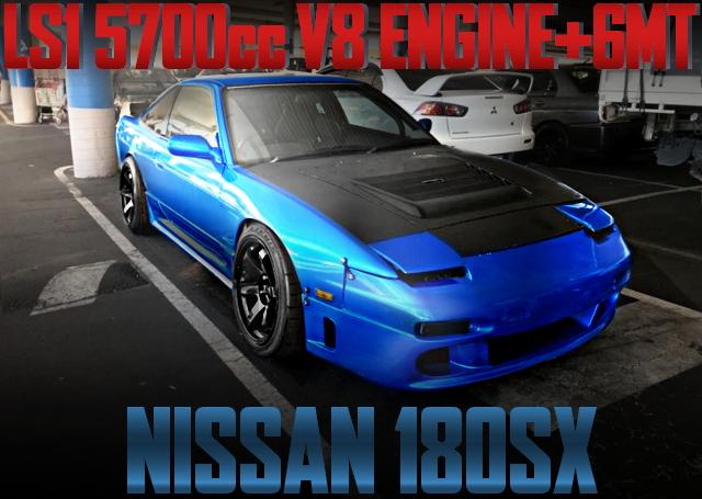 V8 5700CC ENGINE 180SX