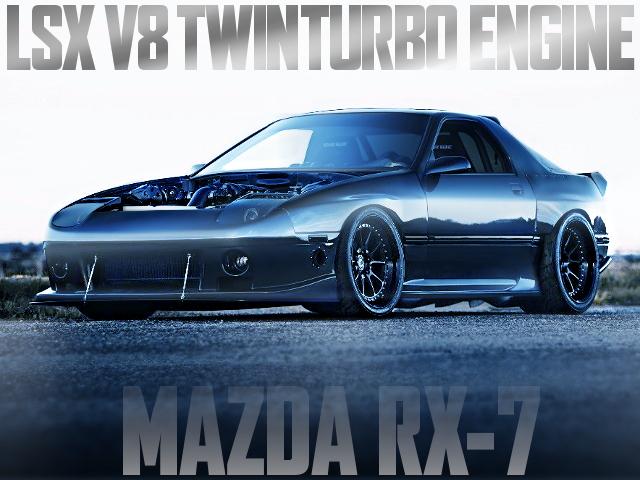 LSX V8 TWIN TURBO FC3S RX-7