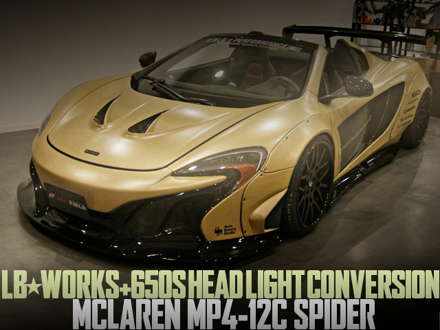 LB-WORKS MCLAREN MP4-12C SPIDER