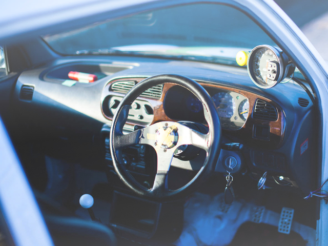 INTERIOR STEERING AND METER