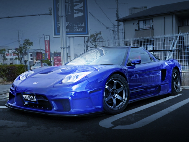 FRONT EXTERIOR SORCERY WIDE NA1 NSX BLUE