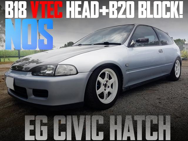 B20B VTEC ENGINE NOS EG CIIVIC