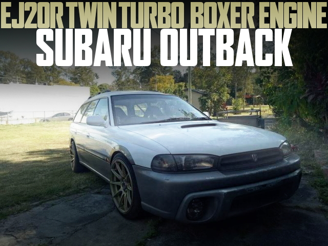 EJ20R TWIN TURBO BOXER BG OUTBACK