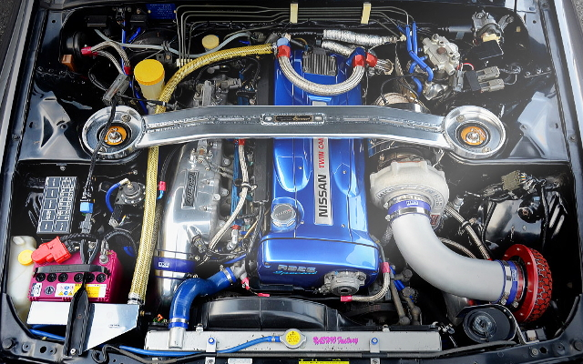 RB26 2700cc T51R SINGLE TURBO ENGINE