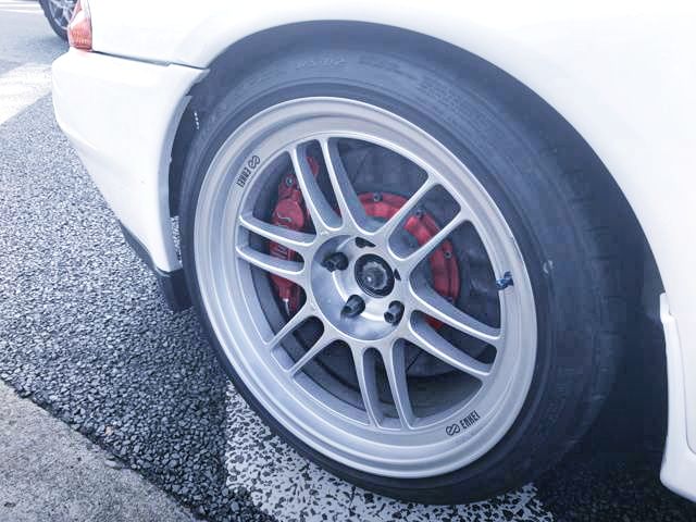 ENKEI RPF1 WHEEL AND ENDLESS BRAKE