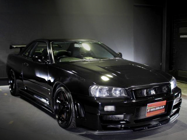 FRONT MASK R34 SKYLINE GTR M-SPEC BLACK