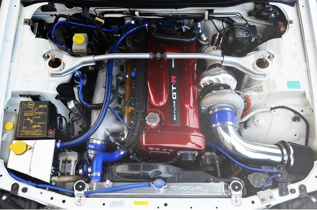 RB26 ENGINE WITH T88-33D TURBOCHARGER