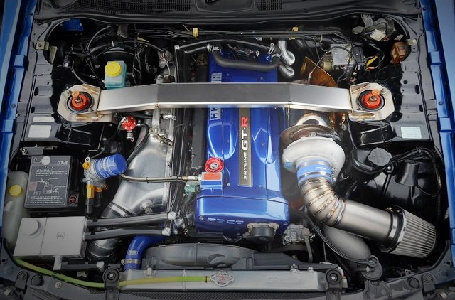RB26 ENGINE TRUST T88-34D TURBOCHARGED