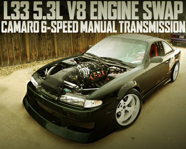 L33 V8 ENGINE S14 ZENKI 240SX
