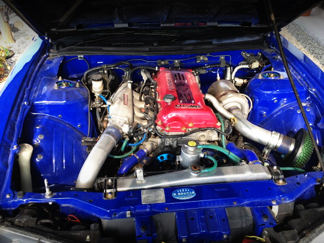 SR20DET TURBO ENGINE OF S14 SI+VIA