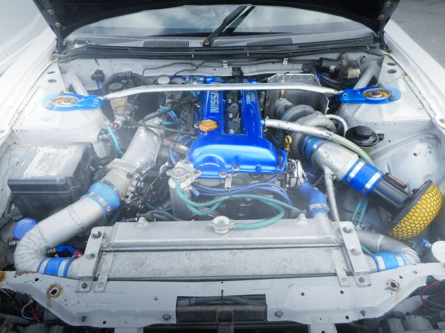 SR20DET ENGINE GT2 TURBOCHARGED