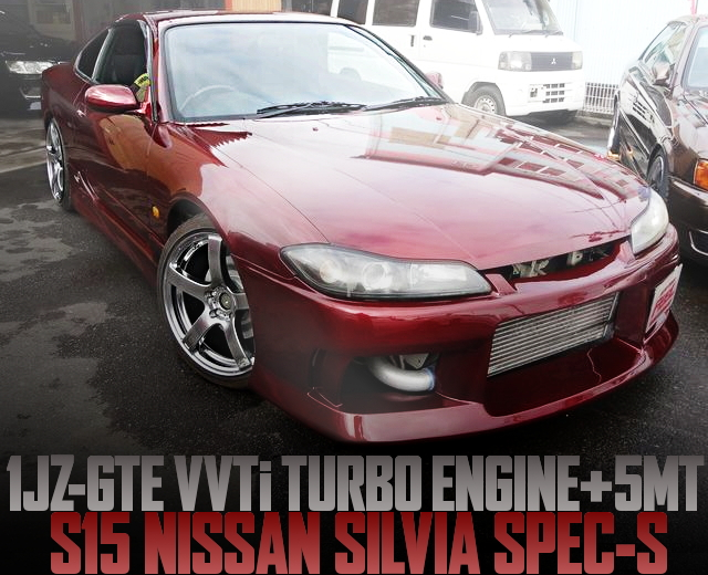 1JZ VVTI TURBO ENGINE S15 SILVIA