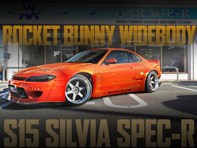 ROCKETBUNNY S15 SILVIA SPEC-R