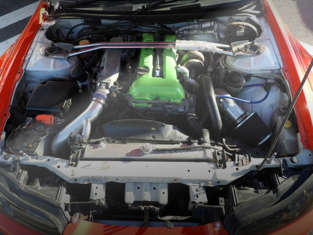 SR20DET ENGINE OF S15 SILVIA SPEC-R