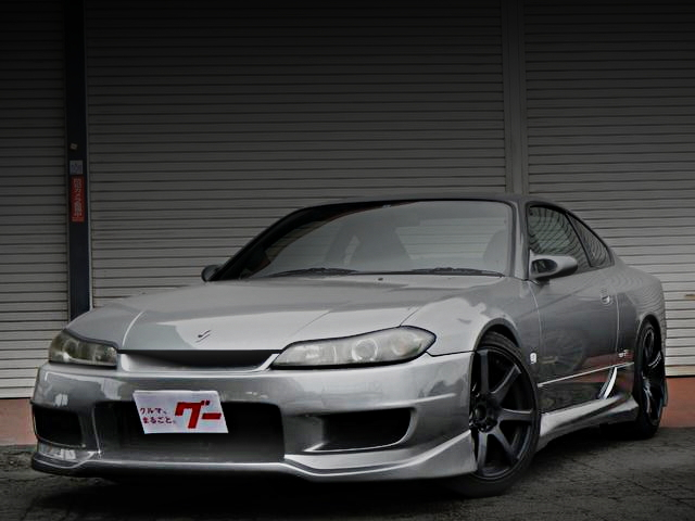 FRONT EXTERIOR S15 SILVIA SILVER