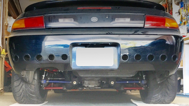 REAR EXHAUST MUFLLER OF S14 240SX ZENKI