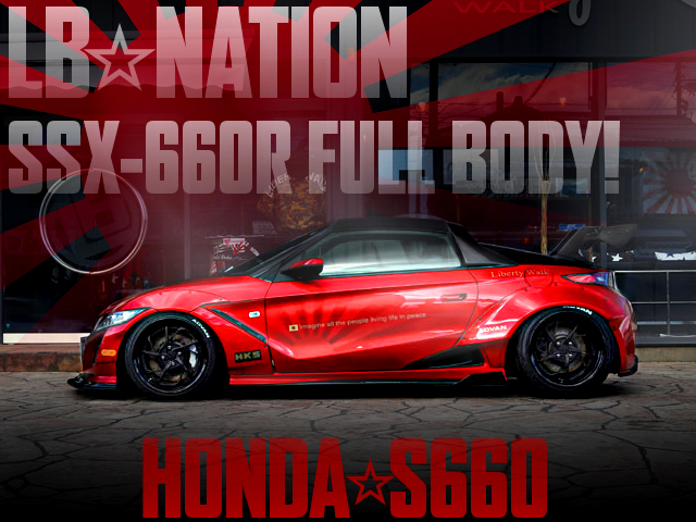 LB WORKS NATION SSX660R