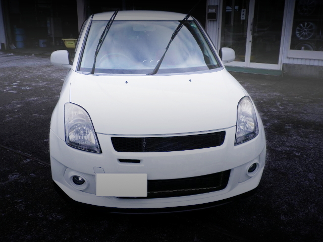 FRONT MASK ZC31S SWIFT SPORT WHITE