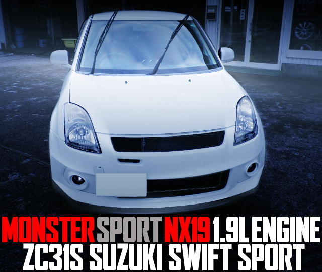 MONSTER NX19 ENGINE ZC31S SWIFT SPORT