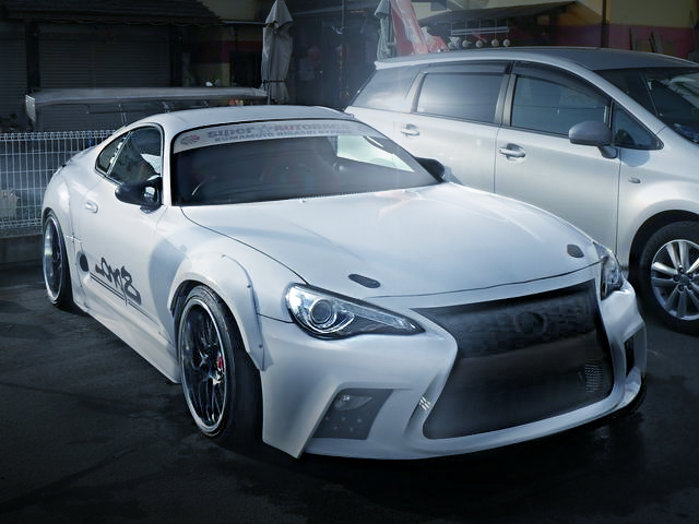 FRONT EXTERIOR TOYOTA86 FACE 80SUPRA WHITE