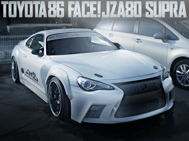 TOYOTA86 FACE JZA80 SUPRA