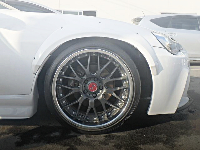 FRONT FENDER ARCH WIDE