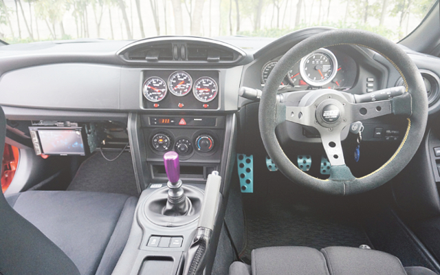 INTERIOR DASHBOARD TOYOTA 86 RC