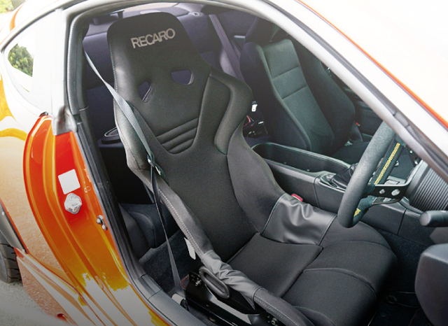 DRIVER POSITION RECARO FULL BUCKET SEAT