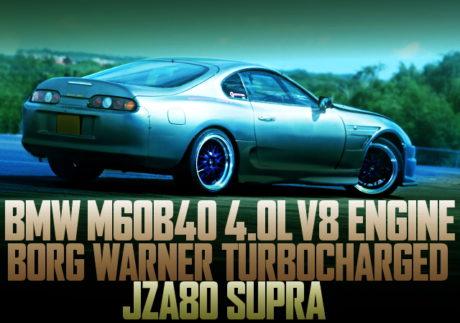 BMW 4000cc V8 ENGINE TURBOCHARGED JZA80 SUPRA