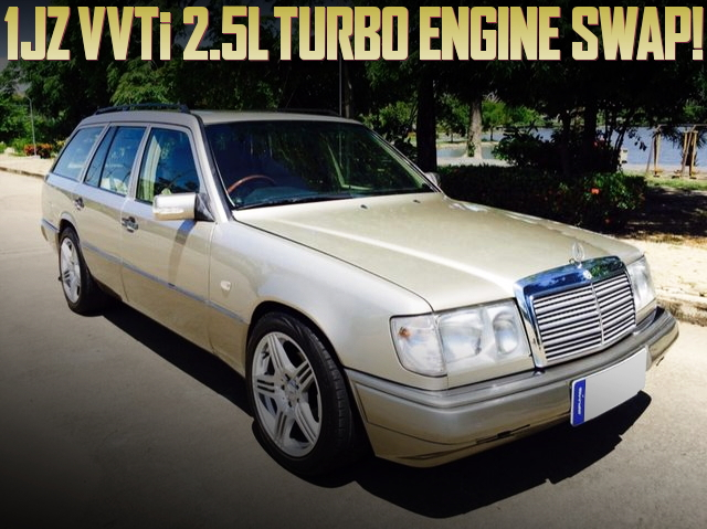 1JZ TURBO SWAP W124 BENZ WAGON
