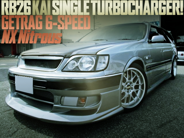 RB26 SINGLE TURBO WITH NOS WGNC34 STAGEA