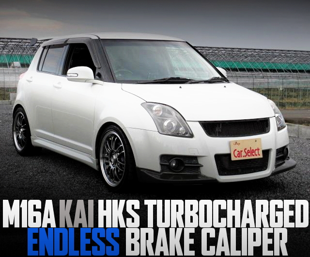 HKS TURBO ZC31S SWIFT SPORT