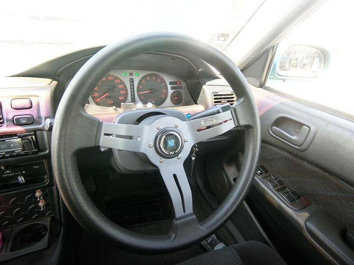 INTERIOR STEERING SPEED CLUSTER